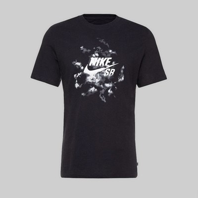 NIKE SB 'DORM ROOM' PACK SS T-SHIRT BLACK WHITE